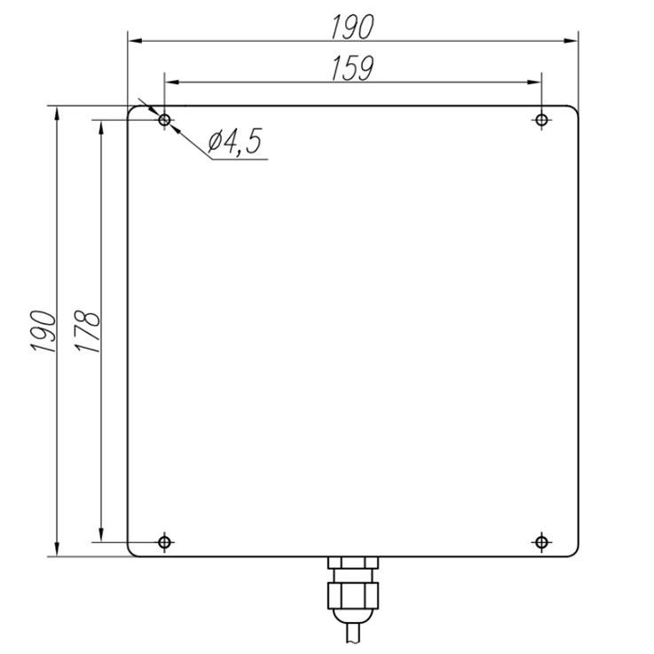 Ближнепольная антенна для систем RFID LL-091006-1.3